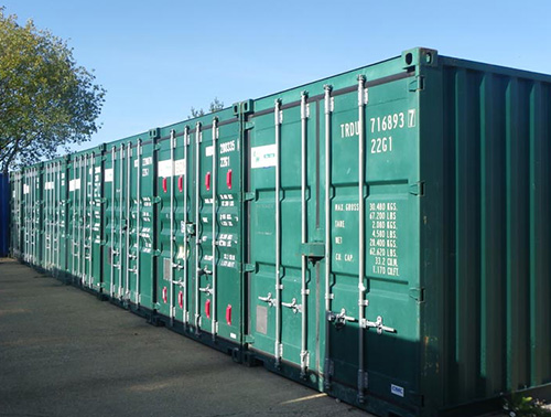 Laughton Self Store, Container Storage